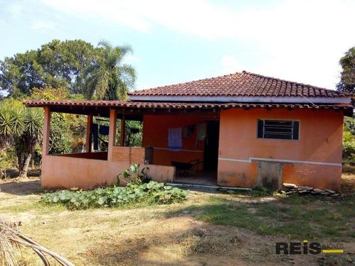Imagem 1 de 9 de Chácara Com 2 Dormitórios À Venda, 2800 M² Por R$ 350.000 - Quintas De Pirapora - Salto De Pirapora/sp - Ch0113