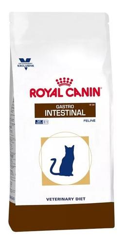 Imagen 1 de 1 de Alimento Royal Canin Veterinary Diet Feline Gastrointestinal (GI 32) para gato adulto sabor mix en bolsa de 2kg
