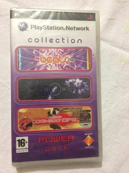 Playstation Network Collection Lacrado Novo Psp**