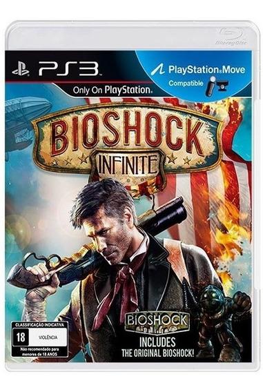 Bioshock Infinite - Midia Fisica Original Lacrado - Ps3