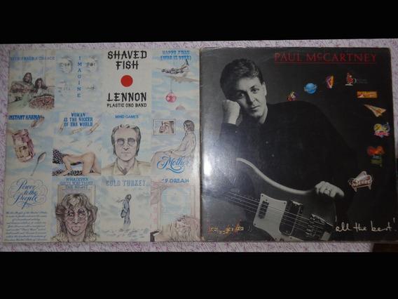 2 Lps Best Of John Lennon E Paul Mccartney - 1 Duplo
