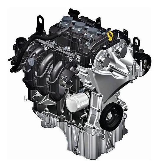 Motor De Serviço 1.0l Tivct 12v Flex Ford Ka 2014/2020 Flex