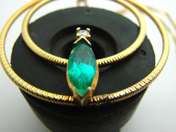 Esmeralda Colombiana Buen Color 1.25 Carats Aproximadamente