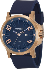 Relógio Mondaine Masculino Ultrasize 99233gpmvri5 Azul