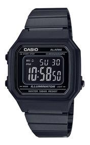 Relógio Casio Unissex Vintage B650wb 1bdf Preto Digital