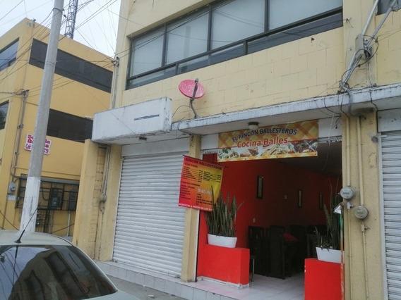Local De 57mt Con Bodeguita Excelente Ubicación Toluca Cen