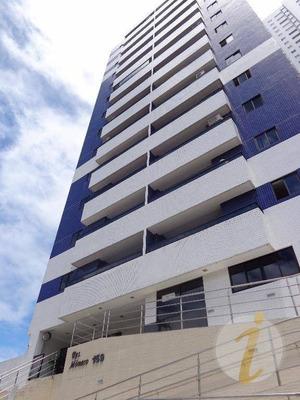 Apartamento Com 3 Dormitórios Para Alugar, 127 M² Por R$ 1.650/mês - Bessa - João Pessoa/pb - Ap6354