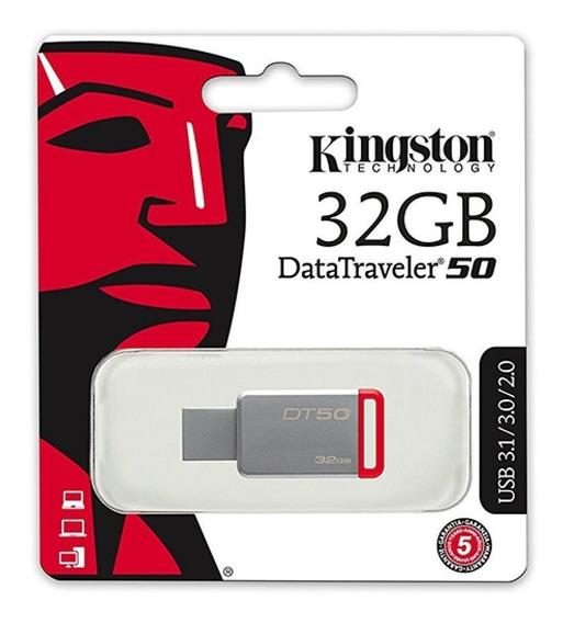 Pen Drive Kingston Datatraveler 50 32gb