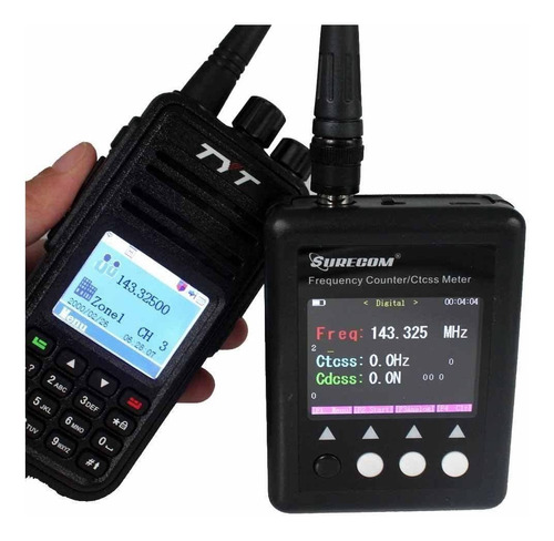 Surecom Sf Plus Frequency Counter For Radio Transceiver...