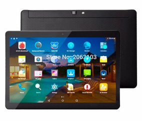 Tablet De 10 Dual Sim Android