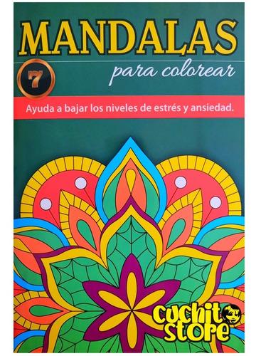 Libro Mandalas Para Colorear Pintar 7