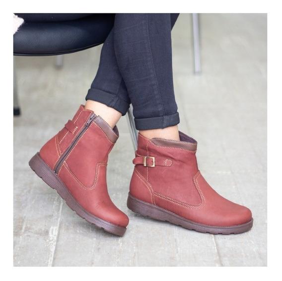 Botines Cuero Dama, Zapatos Cuero Maribu Shoes - Mod #722