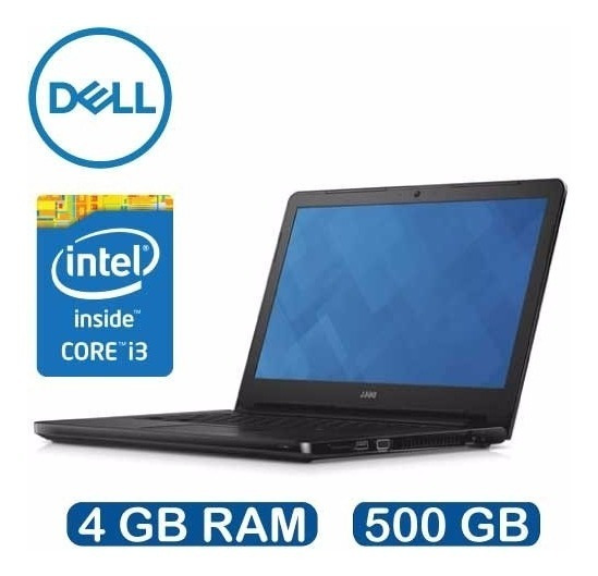Notebook Dell Vostro 3458 Intel I3 4gb 500gb 14 Win10