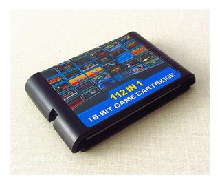 Multi 112 En 1 Juego Megadrive Sega Genesis Envio Gratis