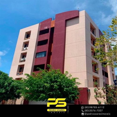 Apartamento Com 2 Dormitórios À Venda, 75 M² Por R$ 250.000 - Bessa - João Pessoa/pb - Ap3162