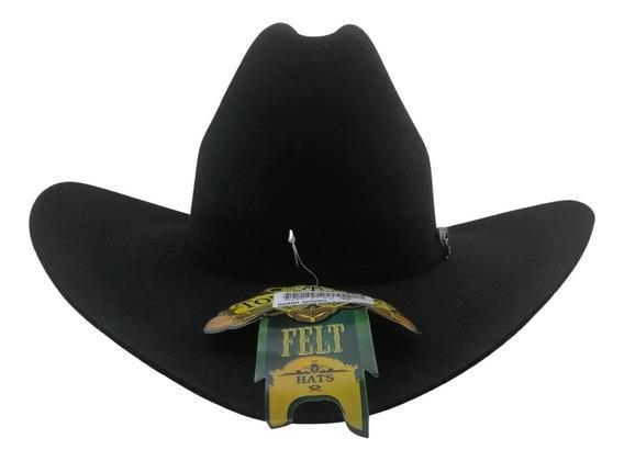 Sombrero Texana Alto 20 X Tombstone Negro Modelo Sonora Lana