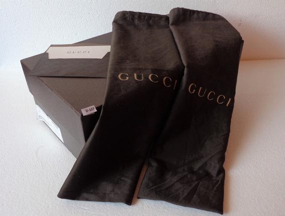 Gucci Caja De Calzado C/ 2 Polvera Fotos Reales # D-107