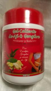 Gel Caliente De Ají Y Gengibre Moldeante Y Reductora 500 Gr.