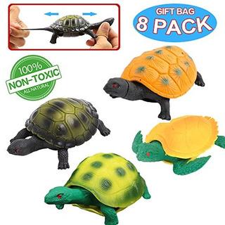 Turtle Toys Sea Ocean Animal 5 Pulgadas De Goma Tortuga De T