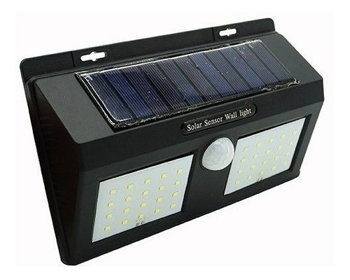 Doble Reflector Led Panel Solar Sensor Detecta Movimiento