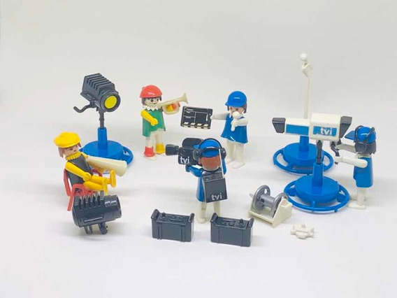 Playmobil Set T V I Televisão Trol Raro