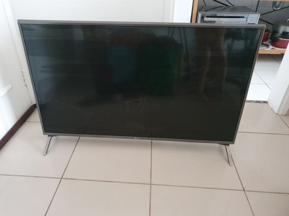 Smart Tv Lg 42 Com Tela Quebrada, Modelo 43uj6565