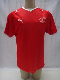 Camisa De Futebol Da Seleção Da Suiça Modelo 2008 Puma Yf3