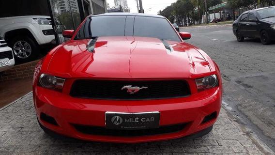 Ford Mustang V6 Coupe Vermelha 2011/2012 Gasolina Mec