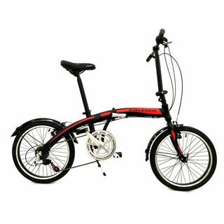 Bicicleta Plegable Raleigh Curve Rodado 20 Envio Cuotas
