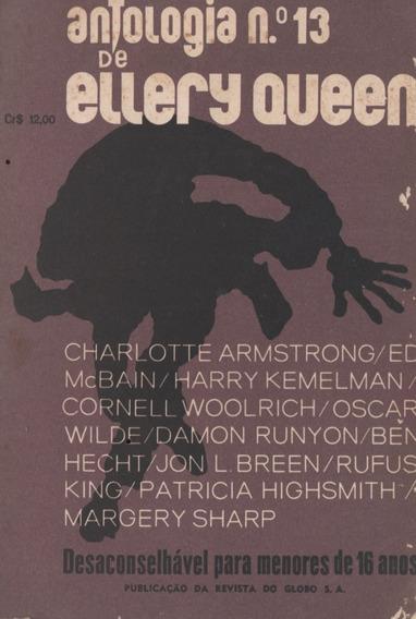 2 Revistas Mistério Magazine De Ellery Queen 72/74 Ed. Globo