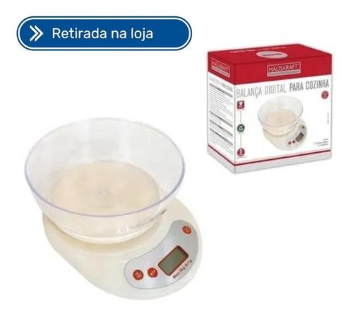 Imagem 1 de 3 de Balanca Digital Para Cozinha 5kg Com Pote Western Blca-002