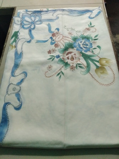 Mantel Rectangular De 12 Puestos