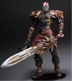 Boneco Action Figure God Of War Kratos Armadura Neca