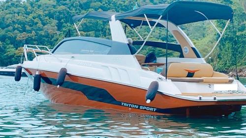 Triton 300 Sport Mercruiser 6.2 320 Hp 2019. Caiera