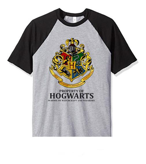 Remera Harry Potter Hogwarts Niño Infantil
