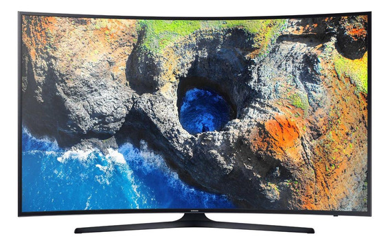 Smart TV Samsung Series 6 UN55MU6300GXZD LED curvo 4K 55""