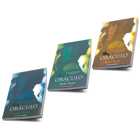 Oráculo Grécia Antiga Literatura Infanto Juvenil 3 Volumes
