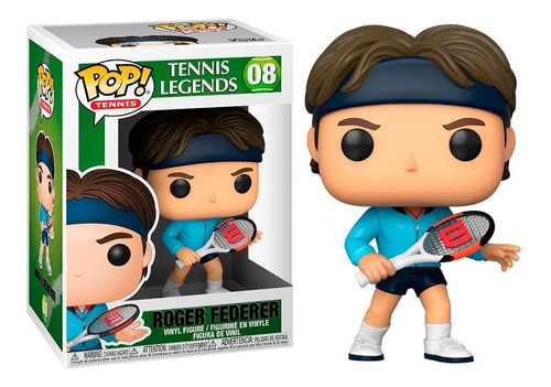 Figura Funko Pop, Roger Federer - Tennis Legends - 08