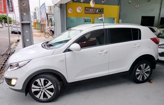 Kia Sportage 2.0 Lx Flex Aut. Blindado Branco