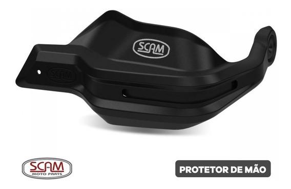 Protetor De Mão Cg125/150/160 2009+ Fazer 150 14/15 Scam