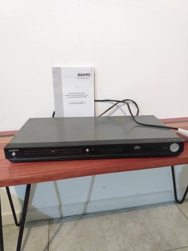 Reproductor De Dvd Sanyo Dvh 9209a. Impecable