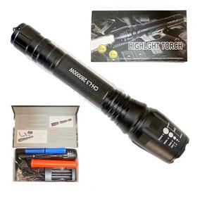 Lanterna Tática Profissional 460000 Lumens Melhor Do Mercado
