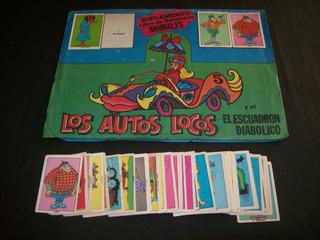 Figuritas Del Album Suplemento Los Autos Locos, A Eleccion
