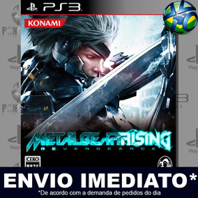 Metal Gear Rising Revengeance Ps3 Midia Digital Envio Agora