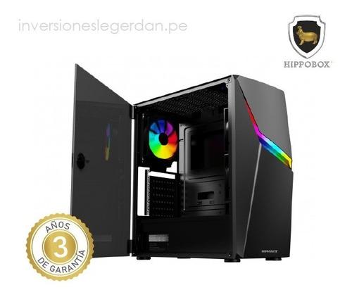 Imagen 1 de 3 de Pc Ryzen 5 5600x 3.7ghz 16gb 512gb X 2 rx-560-4gb 450w