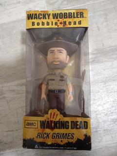 Rick Grimes Wacky Wobbler Bobble Head The Walking Dead