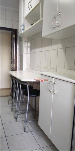 Imagem 1 de 18 de Apartamento Com 3 Dormitórios À Venda, 77 M² Por R$ 335.000,00 - Cidade Brasil - Guarulhos/sp - Ap0593