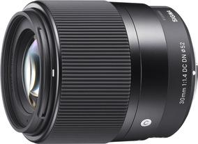 Lente Objetivo Sigma 30mm F1.4 Sony E