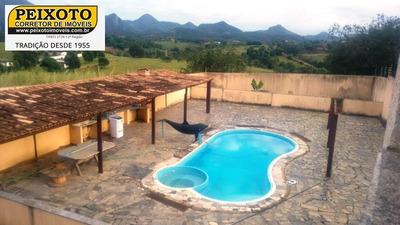 Sítio Com Casa Duplex De 3 Suítes, Com Piscina E Churrasqueira, Todo Murado Com Cerca Elétrica - St00008 - 33306705