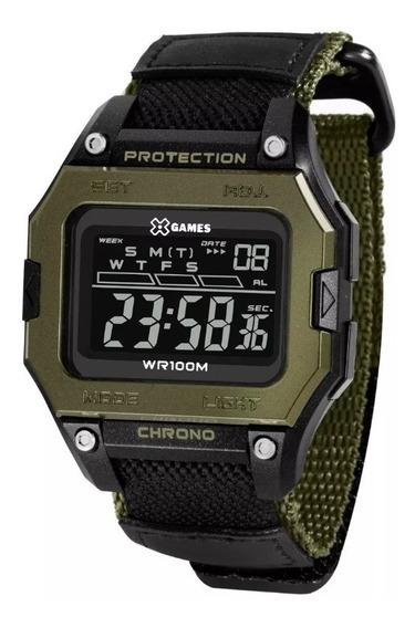 Relógio X Games Masculino Xmppd139 Pxep Nota Fiscal E Garant